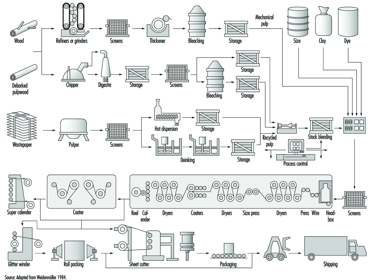 Chapter 1 pulp and paper manufacturing